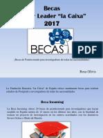 Becas Junior Leader La Caixa