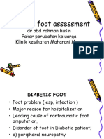 Diabetic Foot Assesement 210313