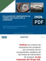 1.-Evaluación de Componentes de Torres Afectados Por La Corrosión