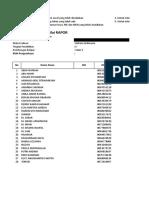 Format Nilai Rapor 20161 Kelas 5 Bahasa Indonesia
