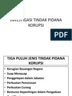 Investigasi Tindak Pidana Korupsi Dan Pengadaan