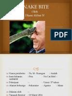 Lapsus Snake Bite Dhani Akbar