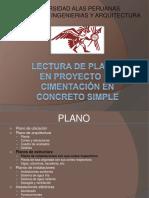 140449065 Lectura de Planos de Proyecto de Cimentacion en Concreto Simple Final