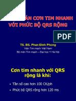 Cơn Tim Nhanh Với QRS Rộng