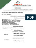 CLASSIFICAÇÃO TÉCNICA DO JUDO NO KIHON E SEUS FUNDAMENTOS