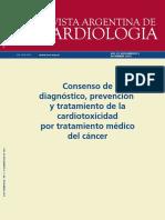 Consenso-Cardiotoxicidad