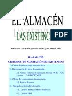 El Almacen Criterios de Valoracin