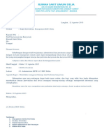 Surat Meeting Agustus