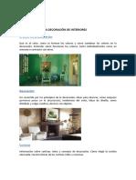 TUTORIA N.-1 Diseño de Interiores