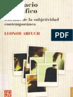 Arfuch Leonor El Espacio Biografico PDF