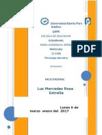 Actividad 1 de Psicologia Educativa Maria Alt. Urena Ramirez . Para Enviar. Hoy (2)