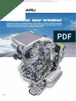 Material Motor Boxer Turbodiesel Tecnologia Subaru