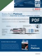 BAP_Technical_Resources Bujías Hoja Novedad Bujías Platinum 2013