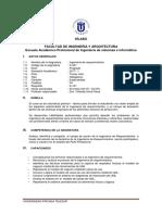 Ingenieria de Sistemas - S-301- Ingenieria de Requerimientos - Silabo