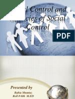 Final Social Control...Ppt