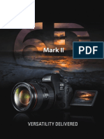 Canon Eos 6d Mark II Product Brochure