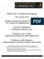 ASACP 2017 Conference Program