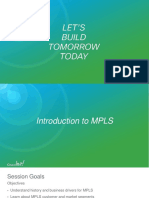 Introduction to MPLS
