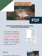 Protocolo de La Calidad Del Agua, Hc