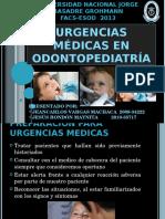 Urgencias Medicas en Odontopediatria