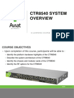 CTR System Overview E Learning Module 1