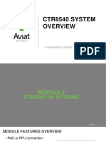 CTR System Overview E Learning Module 2 (RF Options)