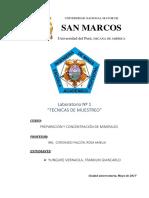 LABORATORIO 2 - MUESTREO