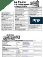 Focus Checklist
