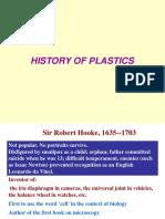 History of Plastics