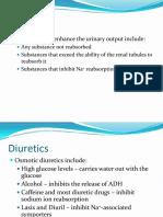 Diuretics h3
