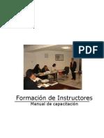 Presentación en Ppt de Capacitación Para La Formación de Instructores