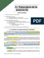 Apuntes Del Tema 2 (Naturaleza de La Materia I)