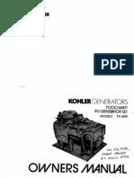 Kohler_Generator Owners Manual