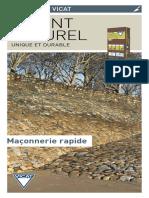 Le ciment naturel Prompt_maçonnerie rapide