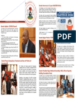 SENATE PRESIDENT NEWSLETTER. 16.07.2017