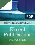 Kregel Publications Winter 2010-2011