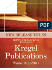 Monarch and Lion Titles from Kegel Publications, Winter 2010-2011