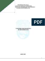 Programa de MicroBiologia