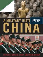 A Military History of China [David Graff, Robin Higham]