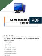 Componentes de Una a pc