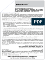 Notice-Implementation of Central KYC (CKYC)