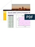 Sample Excel File for Dummies