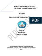 Bab IV Penelitian Tindakan Kelas
