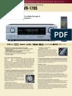 AVR-1705 Fiche Produit