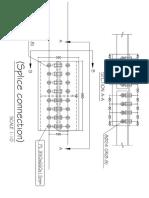 Splice L150X100X15connection Details
