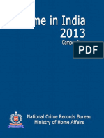 crime in india 2013 compedium