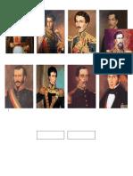 10 Presidentes de Bolivia