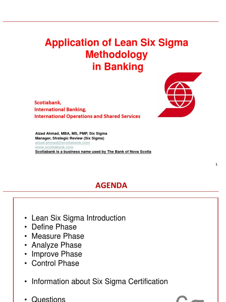 20141127 application of lean six sigma methodology application in 20141127 application of lean six sigma methodology application in banking final six sigma business process xflitez Images