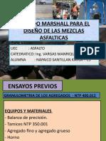 Metodo Marshall Para El Diseño de Las Mezclas