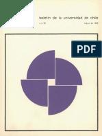Boletin u de Chile 1965 -Los Poetas de Los Lares - Jorge Teillier